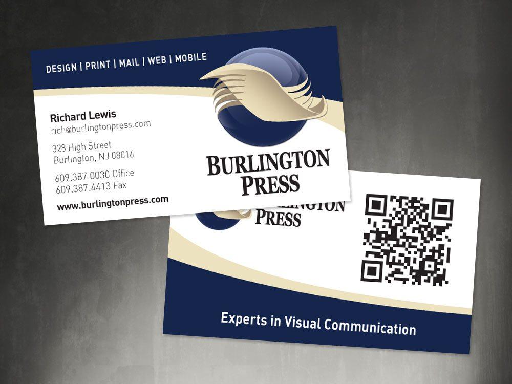 Business Cards - Burlington Press