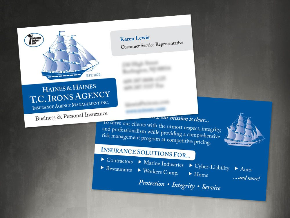 Business Cards - Burlington Press
